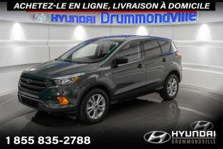 Used 2019 Ford Escape S + GARANTIE + CAMERA + A/C + CRUISE + W for sale in Drummondville, QC