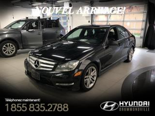Used 2012 Mercedes-Benz C250 4MATIC + GARANTIE + NAVI + TOIT + CUIR + for sale in Drummondville, QC