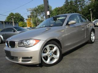 Used 2009 BMW 1 Series 128i ~ LEATHER ~ SUNROOF ~ LOW KMS ~ AUTOMATIC !! for sale in Burlington, ON