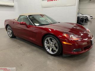 Used 2007 Chevrolet Corvette 2dr Conv  Z51 3LT NAV HUD MEM BOSE  Power Top for sale in St. George, ON