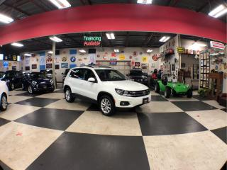 Used 2017 Volkswagen Tiguan WOLFSBURG EDITION  AUT0 AWD LEATHER PANO/ROOF CAMERA PUSH START for sale in North York, ON