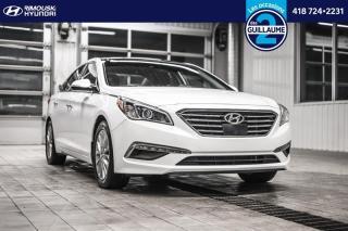 Used 2015 Hyundai Sonata limited chez Rimouski Hyundai for sale in Rimouski, QC