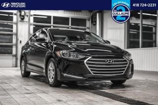 Used 2018 Hyundai Elantra L Manual for sale in Rimouski, QC