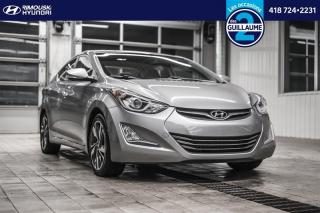 Used 2015 Hyundai Elantra Limited chez Rimouski Hyundai for sale in Rimouski, QC