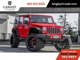 Used 2018 Jeep Wrangler Unlimited Sahara  6'' Lift / Custom Flares / Upgraded Exhaust for sale in Surrey, BC