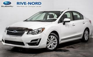 Used 2016 Subaru Impreza 2.0i CAMERA.RECUL+SIEGES.CHAUFFANTS+MAGS for sale in Boisbriand, QC