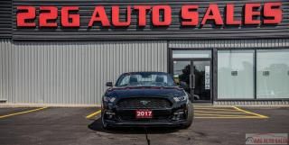 Used 2017 Ford Mustang EcoBoost Premium|ACCIDENT FREE|CONVERTIBLE|LEATHER for sale in Brampton, ON