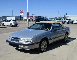 Used 1993 Chrysler LeBaron CONVERTIBLE/ CRUISE/ POWER SEAT for sale in Estevan, SK