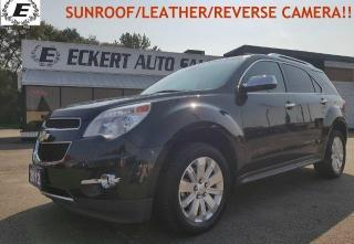 Used 2012 Chevrolet Equinox 2LT/SUNROOF/LETHER/REVERSE CAMERA!! for sale in Barrie, ON