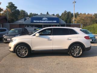 Used 2016 Lincoln MKX Reserve for sale in Flesherton, ON