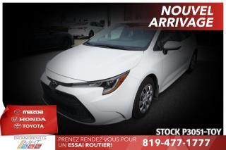 Used 2020 Toyota Corolla LE| BAS KILO| NOUVEAU MODÈLE for sale in Drummondville, QC