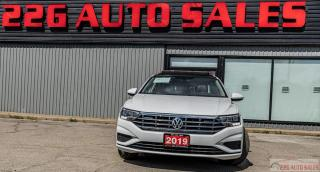 Used 2019 Volkswagen Jetta Highline|ACCIDENT FREE|BACKUP CAM|SUNROOF|LEATHER for sale in Brampton, ON