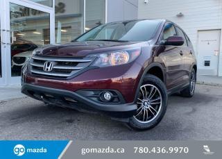 Used 2013 Honda CR-V EX-L - LEATHER, BACK UP, AWD, NAV, FULL LOAD! for sale in Edmonton, AB