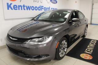 Used 2016 Chrysler 200 3 MONTH DEFERRAL! *oac | AWD | Leather | for sale in Edmonton, AB