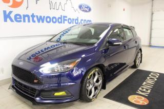 Used 2017 Ford Focus 3 MONTH DEFERRAL! *oac | ST | 5dr Hatch | Sunroof | Leather | Heated Seats for sale in Edmonton, AB