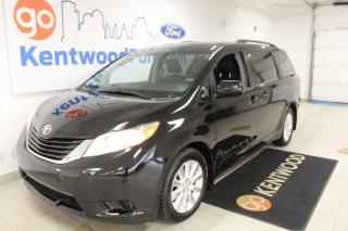 Used 2014 Toyota Sienna 3 MONTH DEFERRAL! *oac | LE AWD | Three Rows | Leather for sale in Edmonton, AB