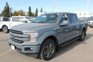 New 2020 Ford F-150 Lariat 502A, 4X4 Supercrew, 2.7L Ecoboost, Auto Start/Stop, Heated Seats, Heated Steering Wheel, Lane Keeping System, Pre-Collision Assist, Remote Keyless Entry/Keypad, Remote Vehicle Start, Rear View for sale in Edmonton, AB