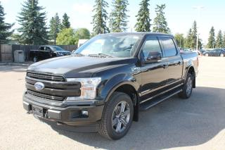 New 2020 Ford F-150 Lariat 502A, 4X4 Supercrew, 5.0L V8, Auto Start/Stop, Heated Seats, Heated Steering Wheel, Lane Keeping System, Pre-Collision Assist, Rear View Camera, Remote Keyless Entry/Keypad, Remote Vehicle Star for sale in Edmonton, AB
