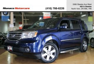 Used 2014 Honda Pilot TOURING - LEATHER|NAVI|BACKUP|SUNROOF|DVD for sale in North York, ON