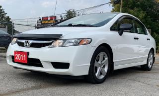 Used 2011 Honda Civic DX-G for sale in Mississauga, ON