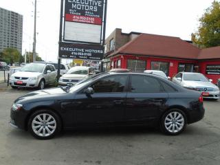 Used 2013 Audi A4 LOADED / ALLOYS / LEATHER / ROOF / MINT / LIKE NEW for sale in Scarborough, ON