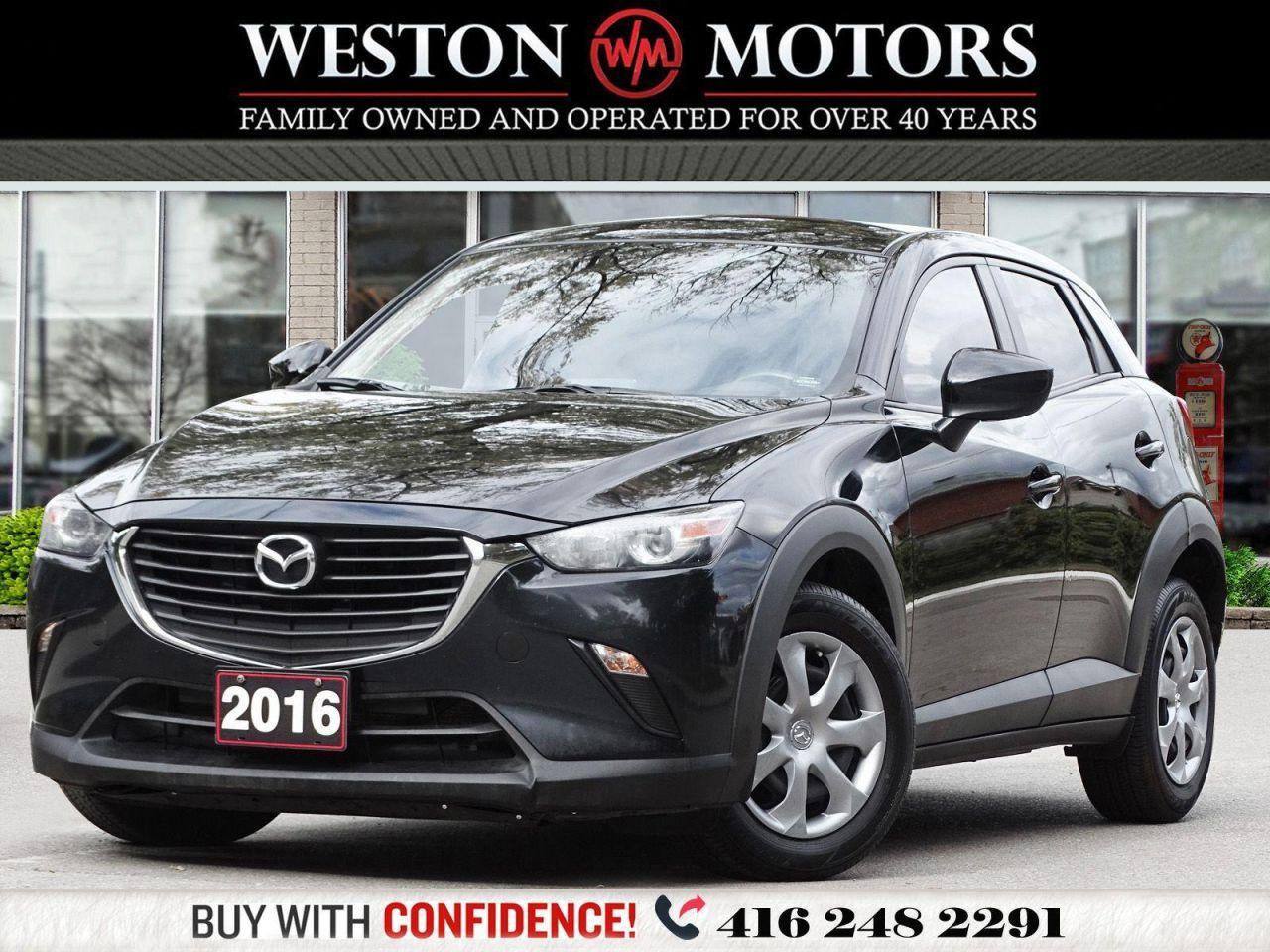 2016 Mazda CX-3 GX*REVERSE CAMERA*AWD*GREAT SHAPE