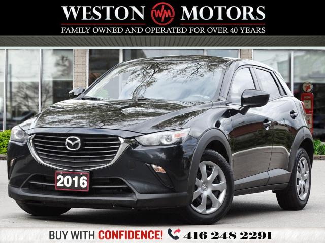 2016 Mazda CX-3 GX*REV CAM*AWD!!*