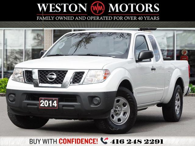 2014 Nissan Frontier SHORT BOX*EXT CAB*BACK RACK!!*