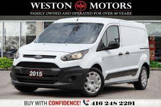 Used 2015 Ford Transit Connect XL*DUALDOORS*BTOOTH*LEATHER*CRUISE CTRL!*SHELVING! for sale in Toronto, ON