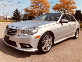 Used 2010 Mercedes-Benz E-Class E 550 4MATIC AMG STYLE for sale in Mississauga, ON