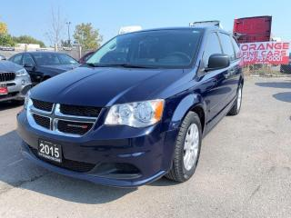 Used 2015 Dodge Grand Caravan CANADA VALUE PACKAGE for sale in Brampton, ON