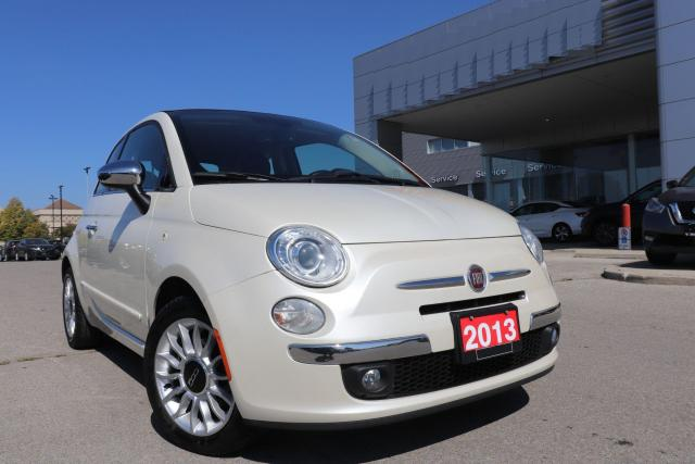 2013 Fiat 500 Convertible|Lounge|Leather|Bluetooth|low Mileage