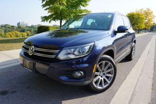 Used 2012 Volkswagen Tiguan SUPER RARE / 6 SPEED MANUAL / LEATHER / ROOF/LOCAL for sale in Etobicoke, ON