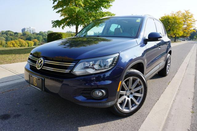 2012 Volkswagen Tiguan SUPER RARE / 6 SPEED MANUAL / LEATHER / ROOF/LOCAL