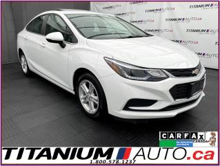 Used 2018 Chevrolet Cruze LT+Camera+Sunroof+Blind Spot+Lane Assist+BOSE+XM for sale in London, ON