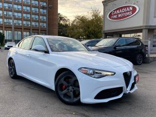 Used 2017 Alfa Romeo Giulia CLEAN CARFAX | NAVI | CAM | AWD | LOW MILEAGE | for sale in Scarborough, ON