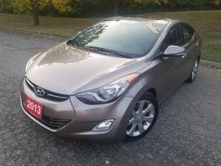 Used 2013 Hyundai Elantra Limited for sale in Mississauga, ON