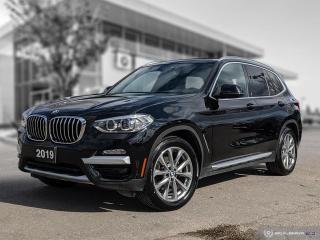 Used 2019 BMW X3 xDrive30i ENHANCED - HUD for sale in Winnipeg, MB