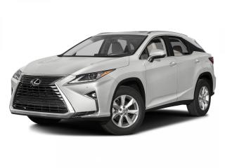 Used 2016 Lexus RX 350 AWD 4dr inc Ext Warranty for sale in Winnipeg, MB