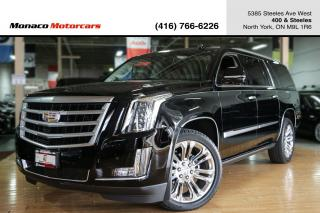 Used 2015 Cadillac Escalade ESV PREMIUM - HUD|ACC|DVD|NAVI|360CAM|SUNROOF for sale in North York, ON