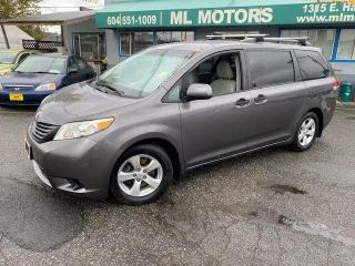 Used 2011 Toyota Sienna LE for sale in Vancouver, BC