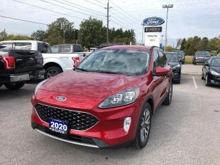 Used 2020 Ford Escape Titanium for sale in Aurora, ON