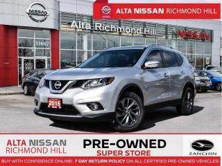 Used 2016 Nissan Rogue SL AWD   Blind Spot   Leather   360 CAM   Leather for sale in Richmond Hill, ON