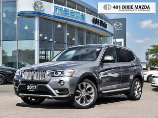 Used 2017 BMW X3 XDrive28i |NO ACCIDENTS|FINANCING AVAILABLE for sale in Mississauga, ON