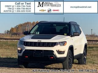 Used 2019 Jeep Compass Trailhawk  2.4 I4,LOW MILEAGE,4X4,HEATED SEATS,BAC for sale in Kipling, SK