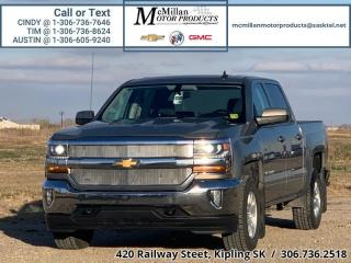 Used 2017 Chevrolet Silverado 1500 LT  5.3L V8,CREW CAB,4X4,HEATED LEATHER SEATS, REA for sale in Kipling, SK