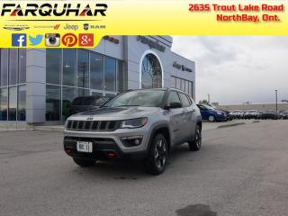 Used 2018 Jeep Compass Trailhawk - Leather Seats -  Bluetooth - $176 B/W for sale in North Bay, ON