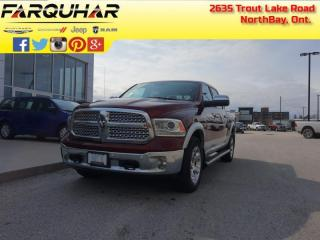 Used 2017 RAM 1500 Laramie - Navigation -  Uconnect - $245 B/W for sale in North Bay, ON