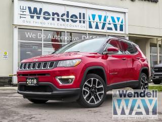 Used 2018 Jeep Compass Limited NAV / DUAL ROOF for sale in Kitchener, ON