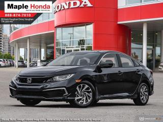 New 2020 Honda Civic EX for sale in Vaughan, ON